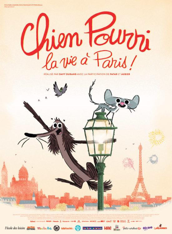 Chien pourri la vie à Paris